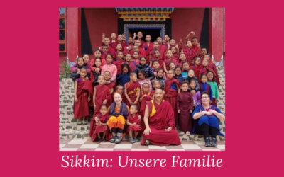 Unsere Sikkim Familie